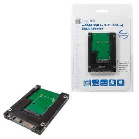 ADAPTOR-CLEANPC-ZALAU-SSD-MSATA-2,5-SATA-MINI-USB-2.0-LOGILINK