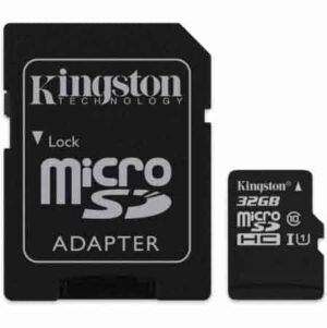 MICRO-SDHC-CLEANPC-ZALAU-KINGSTONE-32-GB-CL 10-UHS-I-CU-ADAPTOR