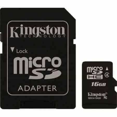 MICRO-SDHC-KINGSTONE-CLEANPC-ZALAU-16-GB-CL4-KS-ADAPTOR