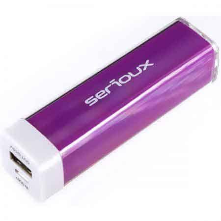 Baterie-Externa-CleanPC-Zalau-SRX-P-Bank-201PP-2200MAH-Purple
