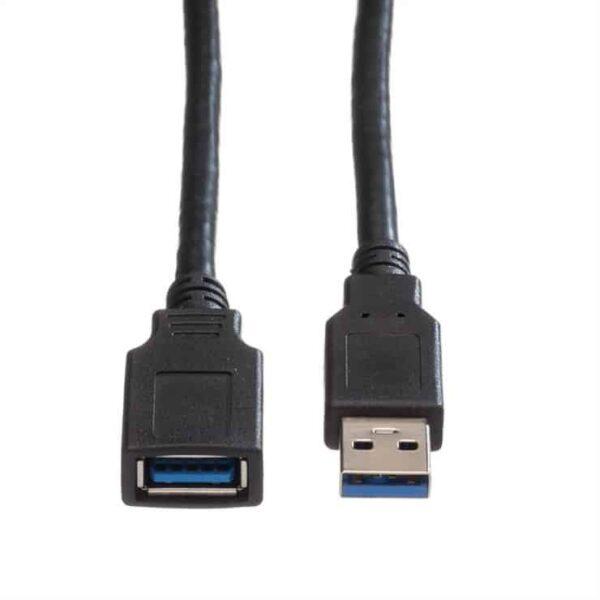 Cablu-cleanpc-zalau-prelungitor-USB-3.0-1.8m-Negru-Roline1