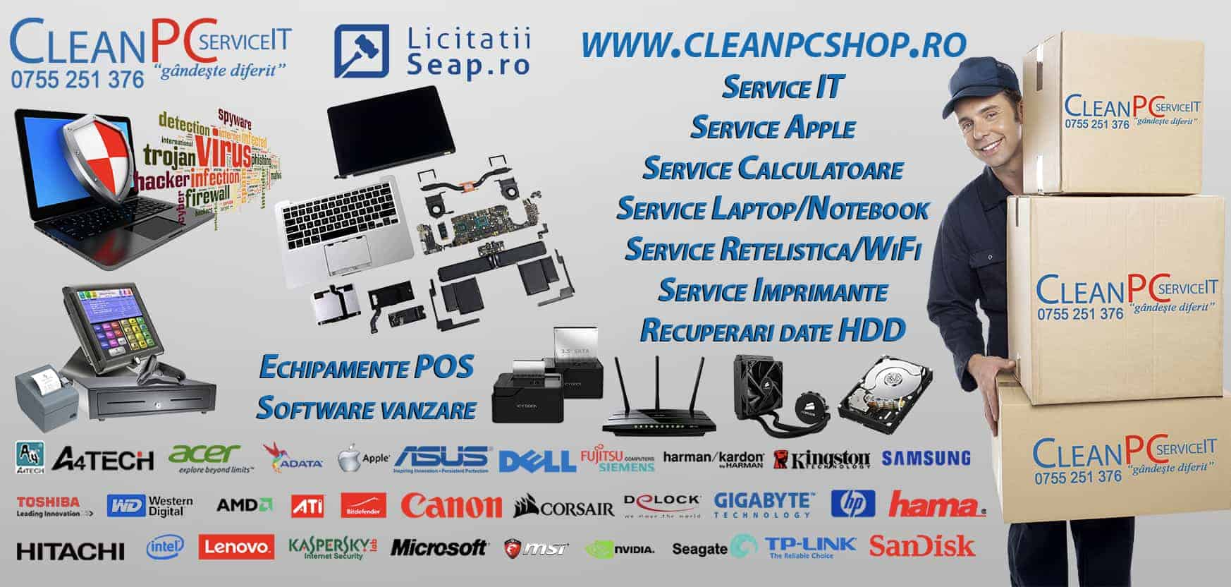 cleanpcshop - magazin calculatoare zalau